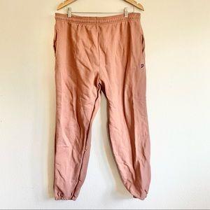 VS Pink Mauve Dusty Rose Campus Sweatpants